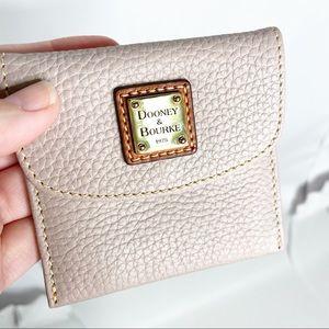 Dooney & Bourke Blush Credit Card Wallet